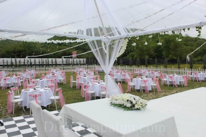 Pink Rose Kır Düğünü