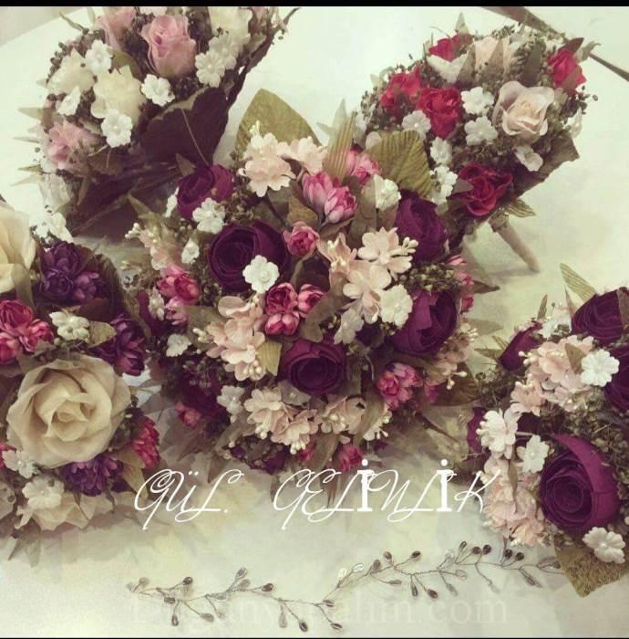Gül Gelinlik Çiçek Tasarım