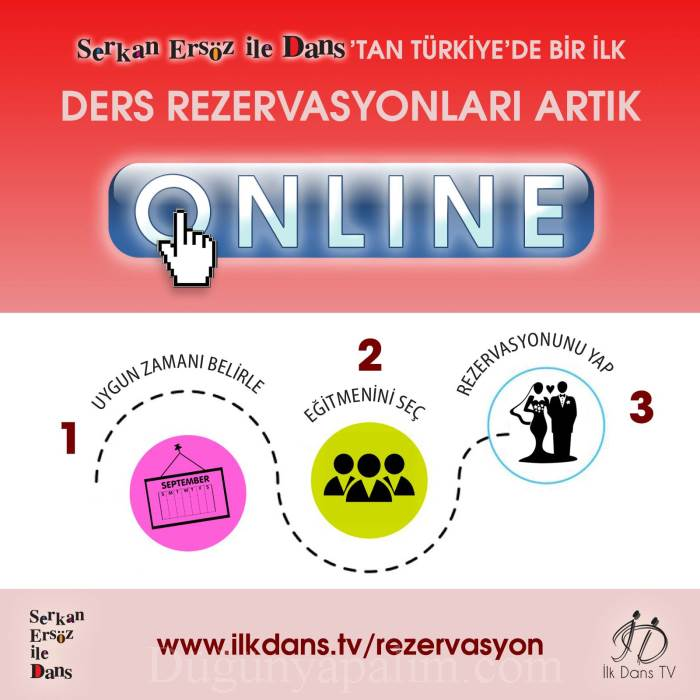 Serkan Ersöz Dans Kursu online rezervasyon