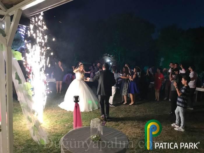 Patica Park Kır Düğünü